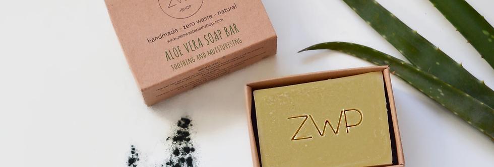 Aloe Vera Soap Bar 100g - Zero Waste Path