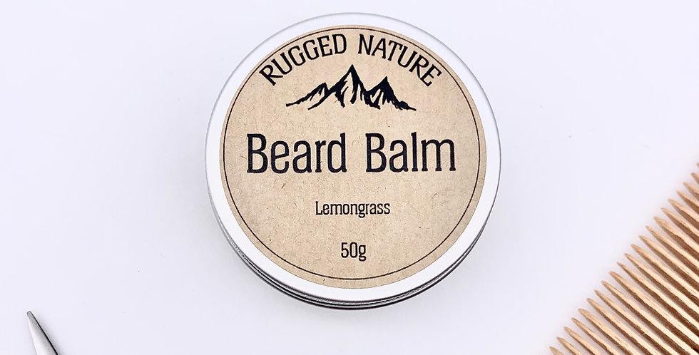 Lemongrass Beard Balm 50g - Rugged Nature