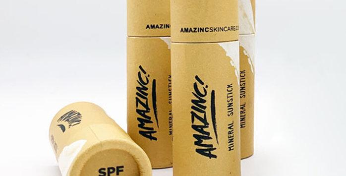 Amazinc SPF50 Mineral Stick Suncream Shark Tooth White - 30g