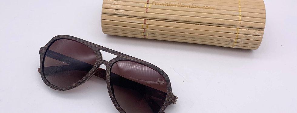 Aviator Wooden Sunglasses - Fresh For Pandas