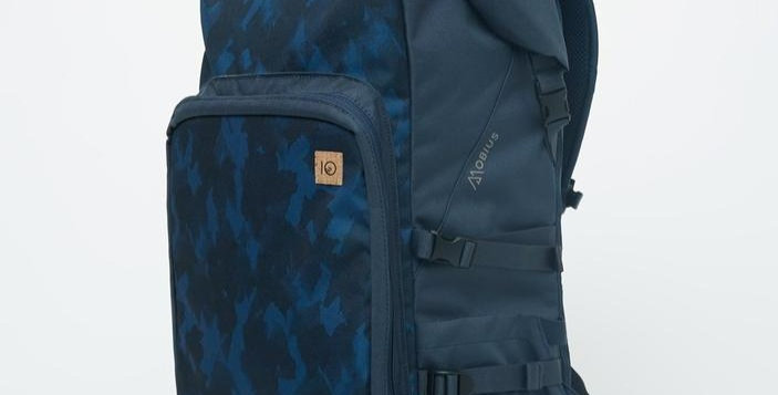 Tentree Mobius 35L Backpack - Dark Ocean Blue