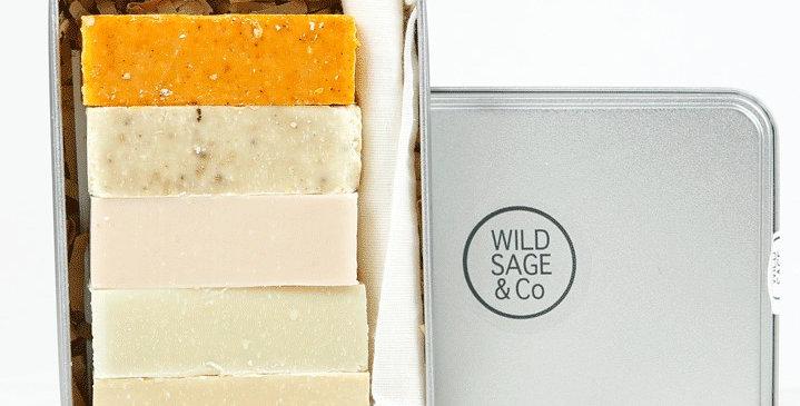 5 Mini Soap Set - Wild Sage + Co
