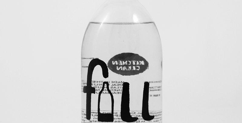 FILL Kitchen Clean - 500ml Glass