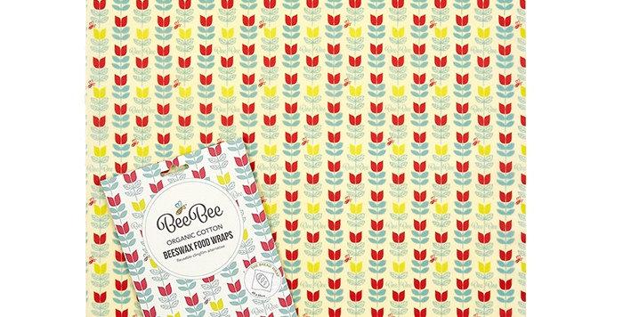 BeeBeeWraps Bread Wrap - Tulip