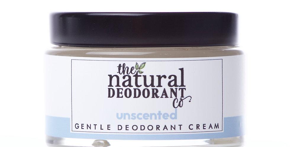 Baking Soda Free Deodorant Cream Unscented - The Natural Deodorant Co