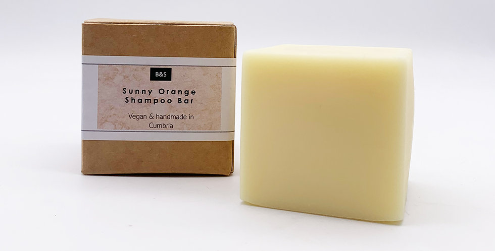 Fizzy Orange Shampoo Bar 130g - Bain & Savon