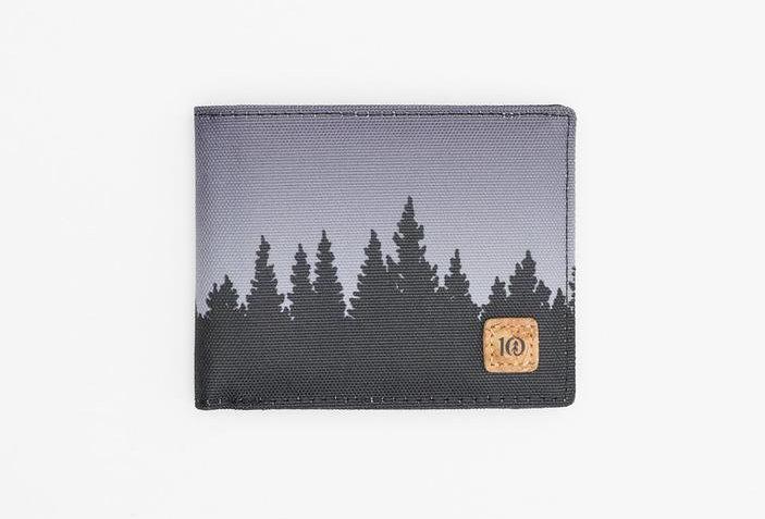 Tentree Baron Bi-Fold Wallet - Meteorite Black