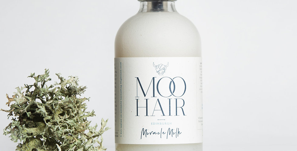 Moo Hair Miracle Milk Heat Protection - 250ml