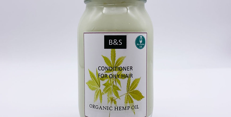 Hemp Oil Conditioner for Oily Hair 175ml - Bain + Savon