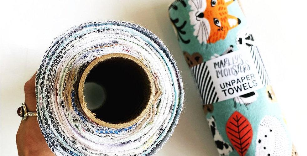 Kraft Tube + Pre-Rolled Unpaper Towels x12 Pack Honeycomb - Marley's M
