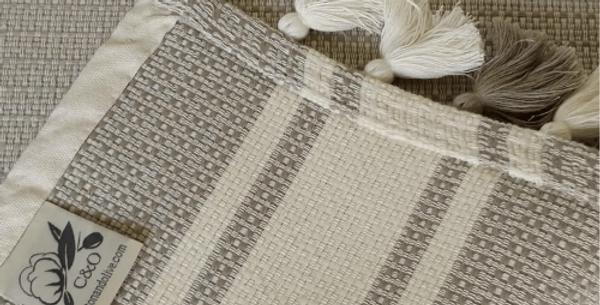 Concept Mat Beige - Cotton & Olive