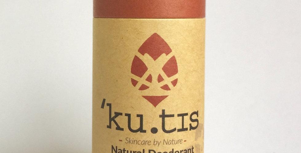 VEGAN Cedarwood & Rose Deodorant 55g - Kutis Skincare