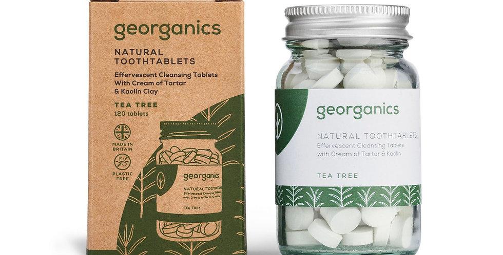 Toothpaste Tablets Tea Tree x120 - Georganics