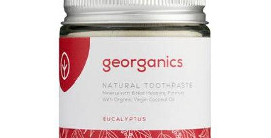 Coconut Oil Toothpaste Eucalyptus 120ml - Georganics