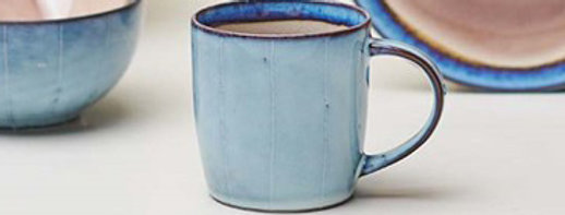 Dakara Ceramic Coffee Mug Dusty Pink - Nkuku