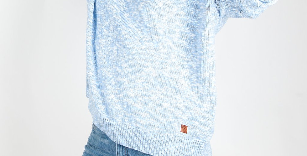 Not Lost Knitted Sweater Dusty Blue - Passenger Clothing