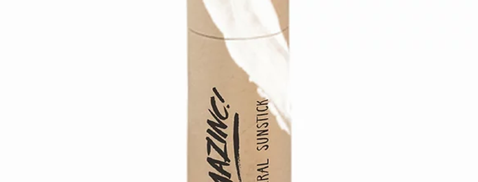 Amazinc SPF50 Mineral Stick Suncream Beige Brown - 30g