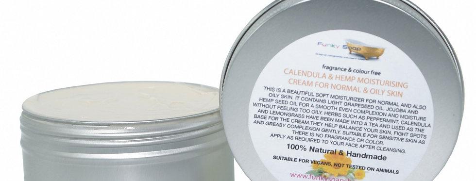 Olive & Moringa Cream for Dry/Mature Skin 150g - Funky Soap
