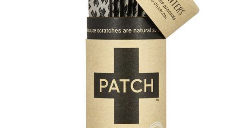 Patch Strips Plasters x25 - Activated Charcoal