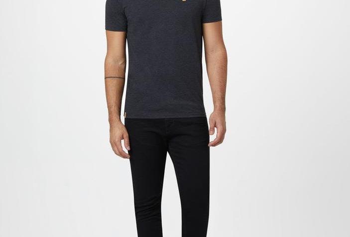 Tentree Treeblend Classic T-Shirt - Meteorite Black Heather