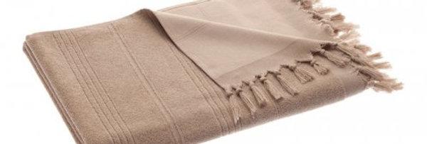 Breezy Cotton Hammam Towel Light Coffee - Cotton & Olive