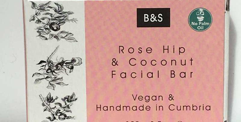 Rosehip and Coconut Soap Bar - Bain and Savon