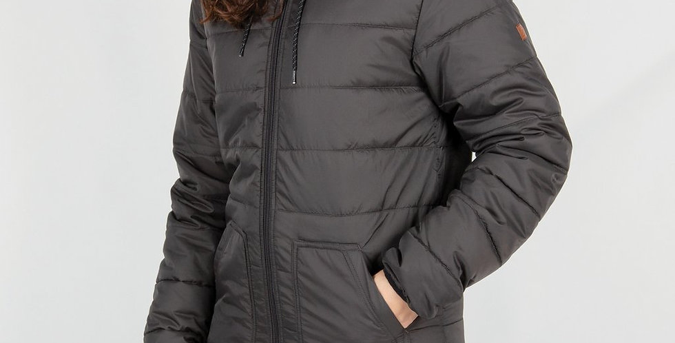 RECYCLED Rowan Insulated Jacket Charcoal - Passenger Clothing