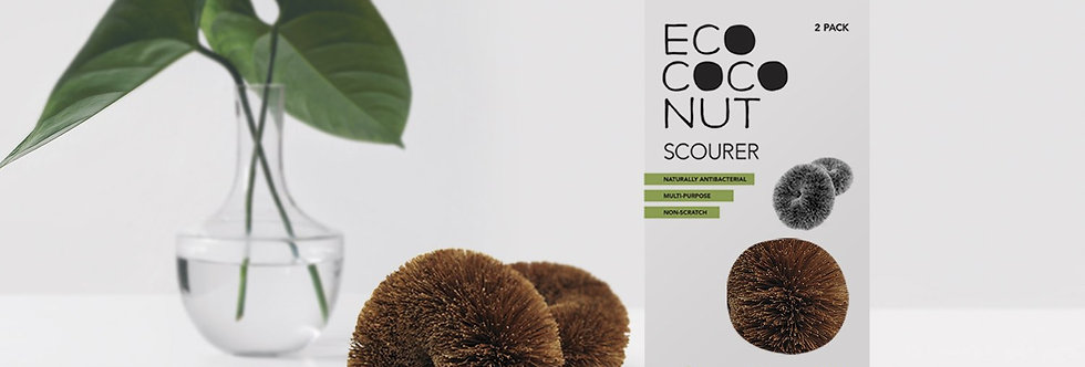 Coconut Scourers Twin Pack - EcoCoconut