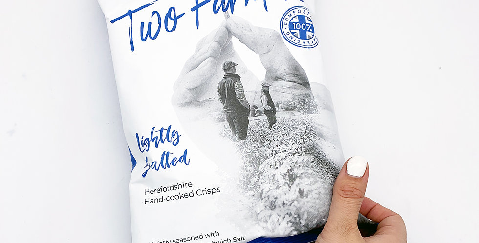 Two Farmers Crisps Lightly Salted 12 x 150g