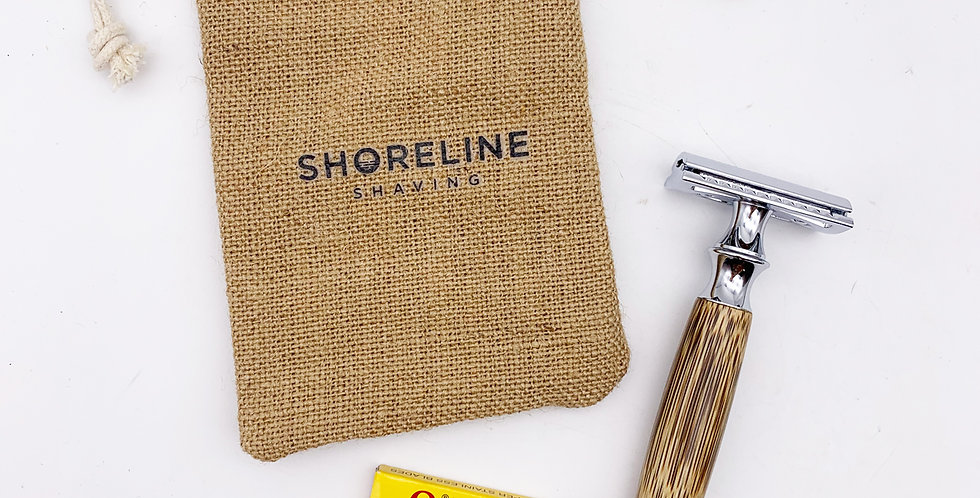 Safety Razor & Travel Bag - Shoreline Shaving