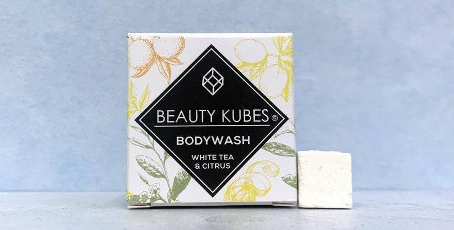 Beauty Kubes Body Wash - White Tea & Citrus