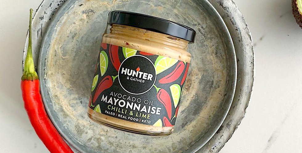 Chipotle Chilli & Lime Avocado Oil Mayonnaise 175g - Hunter & Gather