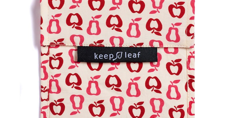 Eco Snack Bag Apples - Keep Leaf