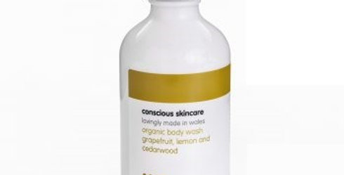 Grapefruit, Lemon & Cedarwood Body Wash 235ml - Conscious Skincare