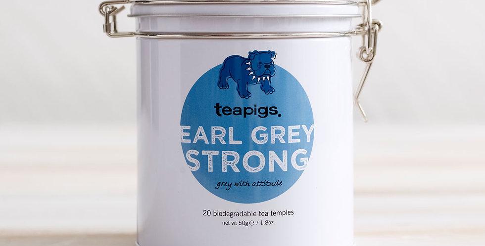 Earl Grey Strong Tin of Tea - Teapigs