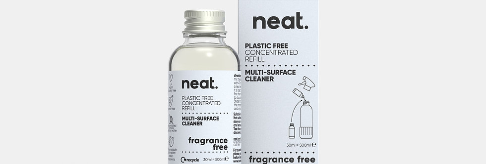 x1 Refill Fragrance Free Multi Purpose Cleaner - Neat