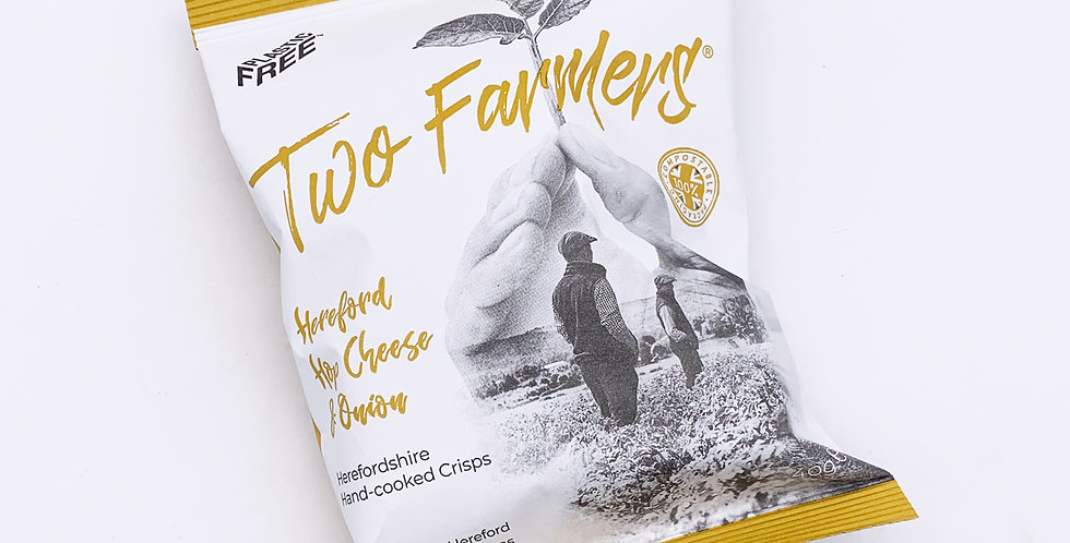 Two Farmers Crisps Cheese & Onion 24 x 40g