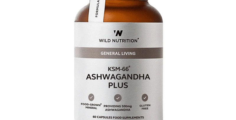 KSM-66 Ashwagandha Food-Grown® Daily Multi Nutrient - Wild Nutrition