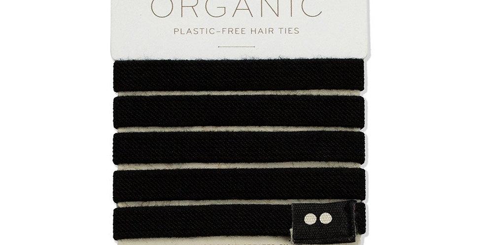 KOOSHOO Organic Hair Bobbles - Black