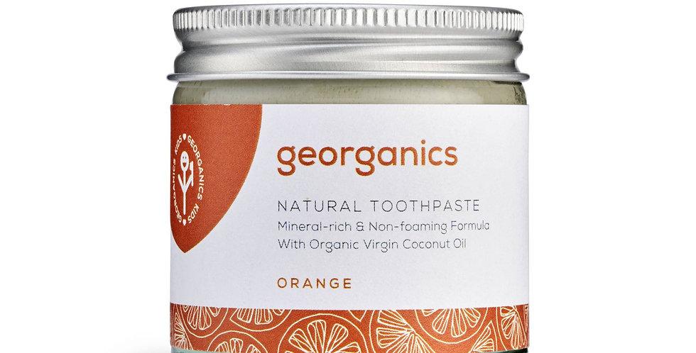 Coconut Oil Toothpaste Orange 120ml - Georganics