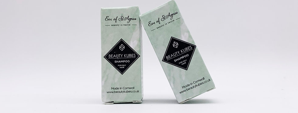 Beauty Kubes Shampoo for Oily Hair x3 Sample Pack -  Eve of St Agnes