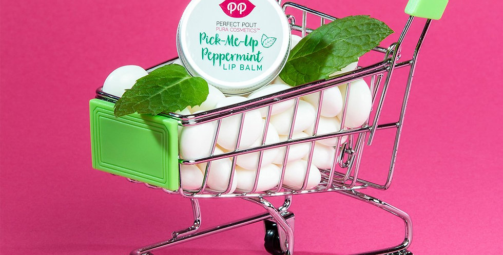 Pick-Me-Up Peppermint Lip Balm - Pura Cosmetics