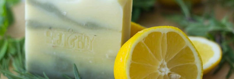 MINI Lemon & Herb Soap Bar 40g - Bean & Boy