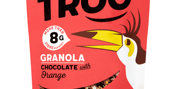 Granola, Chocolate With Orange 350g - Eat Troo