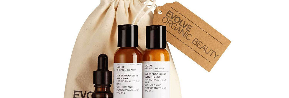 Organic Haircare Essentials Gift Set - Evolve Beauty