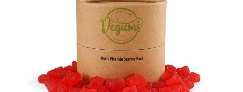 Multi Vitamin Gummy Bears x120 Refill Pack - Vegums