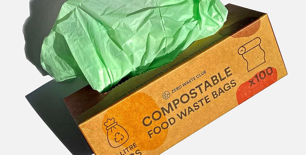 Compostable Bin Bags 10L x100 - Zero Waste Club