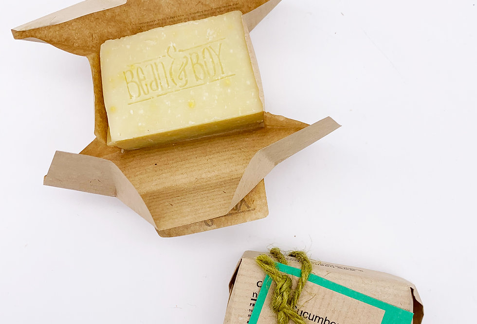 MINI Cucumber & Mint Soap Bar 40g - Bean & Boy