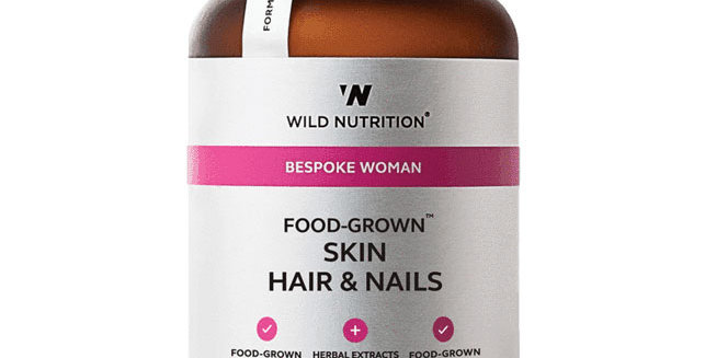 Women's Food-Grown® Skin Hair & Nails - Wild Nutrition