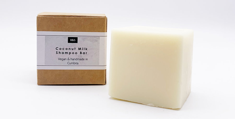 Coconut Milk Shampoo Bar 130g - Bain & Savon